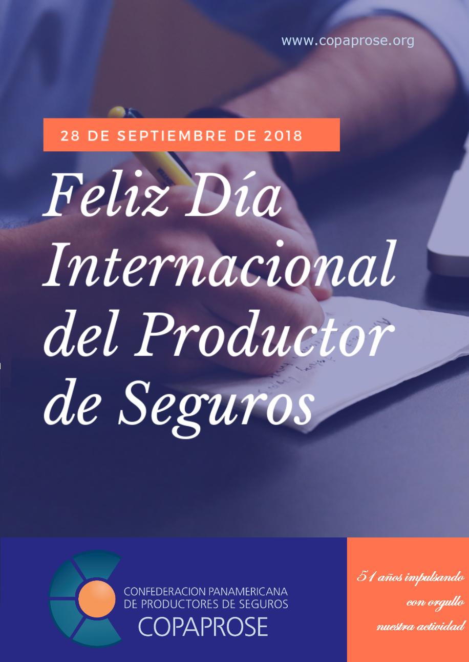Feliz Día Internacional del Productor de Seguros