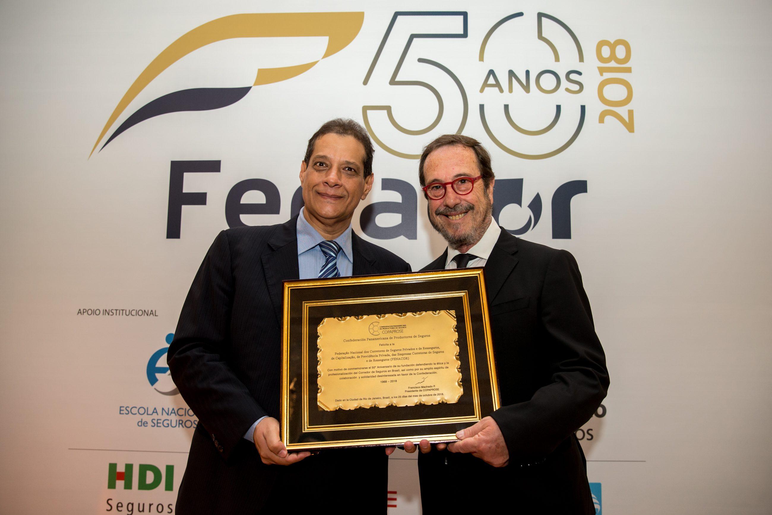 COPAPROSE participa en celebración de 50 Aniversario de FENACOR