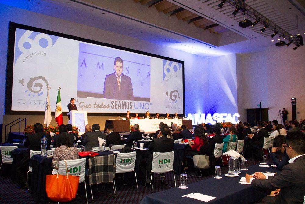 COPAPROSE presente en 60 Aniversario de AMASFAC (México)